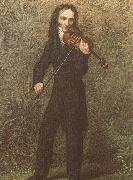 georges bizet the legendary violinist niccolo paganini in spired composers and performers china oil painting reproduction