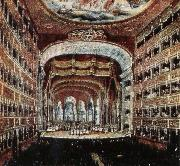 leigh hunt the interior of the teatro san carlo in naples where several of rossini s operas were fist performed china oil painting reproduction