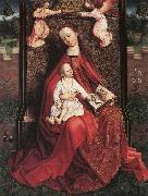 unknow artist Virgin and Child Crowned by Two Angels china oil painting reproduction