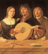 Giovanni Lanfranco Lute curriculum has five strings and 10 frets china oil painting reproduction