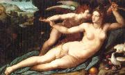 unknow artist Venus and Cupid china oil painting reproduction