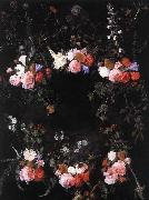 unknow artist Garland of Flowers china oil painting reproduction