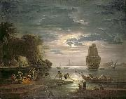 Claude-joseph Vernet Claude Joseph - The Night china oil painting reproduction