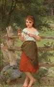 Emile Munier Contemplation china oil painting reproduction