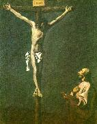 Francisco de Zurbaran st. lucas before christ crucified china oil painting reproduction