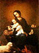 Francisco de Zurbaran virgin and child with st. china oil painting reproduction