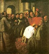 Francisco de Zurbaran buenaventura at the council of lyon china oil painting reproduction