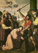 Francisco de Zurbaran the martydom of st james. china oil painting reproduction