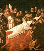 Francisco de Zurbaran death of st. buenaventura china oil painting reproduction