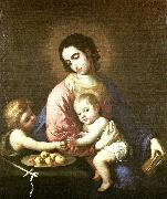 Francisco de Zurbaran virgin and child with st china oil painting reproduction