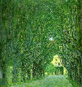 Gustav Klimt allea i slottet kammers park china oil painting reproduction
