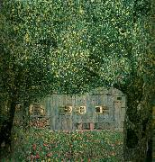 Gustav Klimt bondgard i ovre osterrike china oil painting reproduction