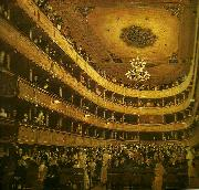 Gustav Klimt salongen, gamla burgtheater china oil painting reproduction