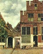 Jan Vermeer den lilla gatan china oil painting reproduction