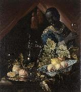 Juriaen van Streeck Still life with peaches and a lemon china oil painting reproduction