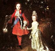 Largillierre james stuart and his sister china oil painting reproduction