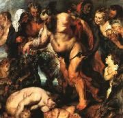 RUBENS, Pieter Pauwel Drunken Silenus china oil painting reproduction