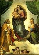 Raphael the sistine madonna china oil painting reproduction