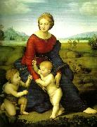 Raphael virgin and child with china oil painting reproduction