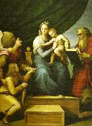 Raphael the madonna del pesce china oil painting reproduction