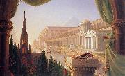 Thomas Cole The dream of the architect china oil painting reproduction
