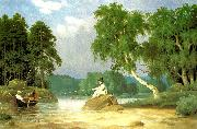 broderna von wrights metfiskare china oil painting reproduction