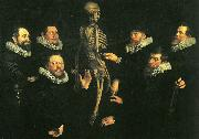 nicolaes eliasz pickenoy osteologilektion med dr. sebastiaen egbertsz china oil painting reproduction