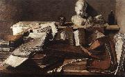 unknow artist Still-Life with Books china oil painting reproduction