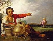Abraham Bloemaert Shepherd Boy Pointing at Tobias and the Angel china oil painting reproduction