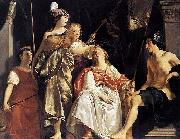 Abraham van den Tempel Minerva Crowns the Maid of Leiden china oil painting reproduction