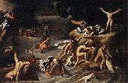 Agostino Carracci Flood china oil painting reproduction