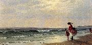 Alfred Thompson Bricher At the Shore china oil painting reproduction