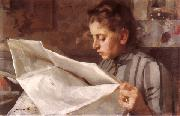 Anders Zorn Emma Zorn reading china oil painting reproduction