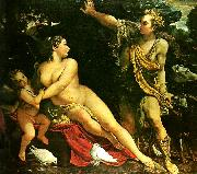 Annibale Carracci adonis overraskande venus china oil painting reproduction