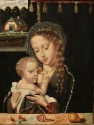Anonymous Madonna and Child Nursing china oil painting reproduction