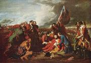 Benjamin West Tod des Generals Wolfe china oil painting reproduction