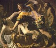 Bernardino Mei Orestes slaying Aegisthus and Clytemnestra china oil painting reproduction
