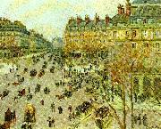 Camille Pissarro avenue de l, opera china oil painting reproduction