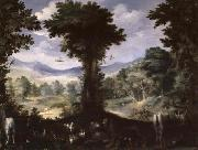Carlo Antonio Procaccini Garden of Eden china oil painting reproduction
