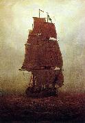 Caspar David Friedrich Segelschiff china oil painting reproduction