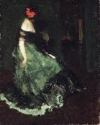 Charles Webster Hawthorne Red Bow china oil painting reproduction