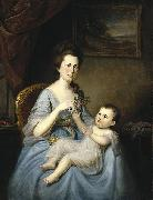 Charles Willson Peale David Forman and Child china oil painting reproduction