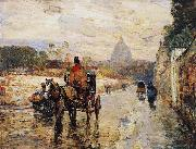 Childe Hassam La Val de-Grace Spring Morning china oil painting reproduction