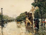 Childe Hassam Champs Elysees Paris china oil painting reproduction