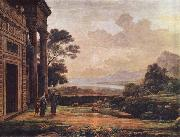 Claude Lorrain Verstobung der Hagar china oil painting reproduction