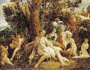 Correggio Leda mit dem Schwan china oil painting reproduction
