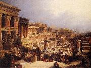 David Roberts The Israelites Leaving Egypt china oil painting reproduction