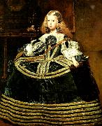 Diego Velazquez infantan margarita vid atta ars alder china oil painting reproduction