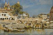 Edwin Lord Weeks Temples and Bathing Ghat at Benares china oil painting reproduction