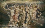 Elihu Vedder The Pleiades china oil painting reproduction
